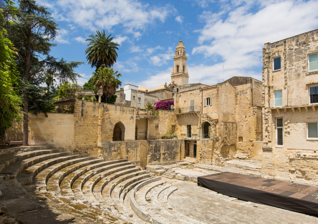 City Center of the beautiful town of Lecce, Italy #Lecce #Puglia #Italy