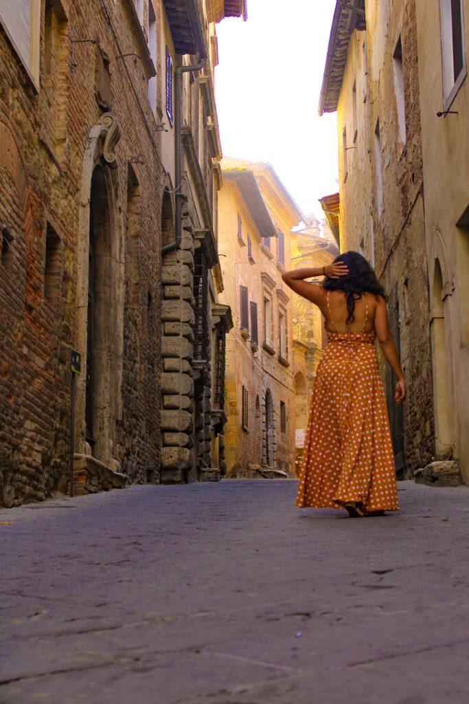 Cobbled streets of Montepulciano #VisitMontepulciano