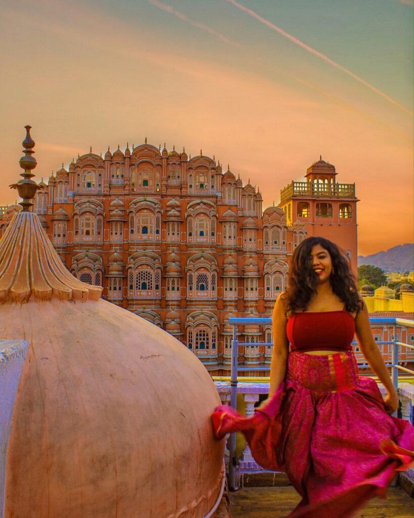 Hawa Mahal, Jaipur, Rajasathan #RajasthanTrip