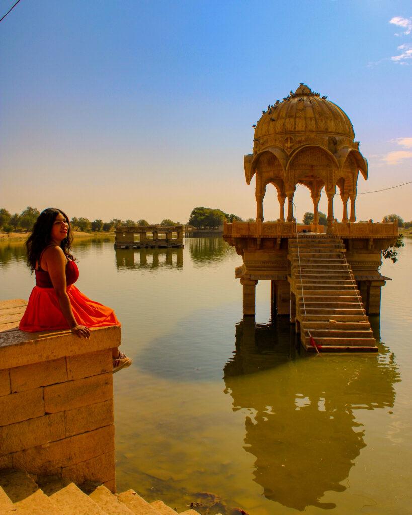 Rajasthan Trip : Gadisagar Lake, Jaisalmer