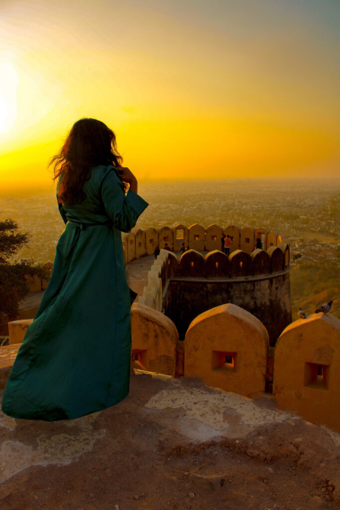 Sunset at Nahargarh Fort, Jaipur