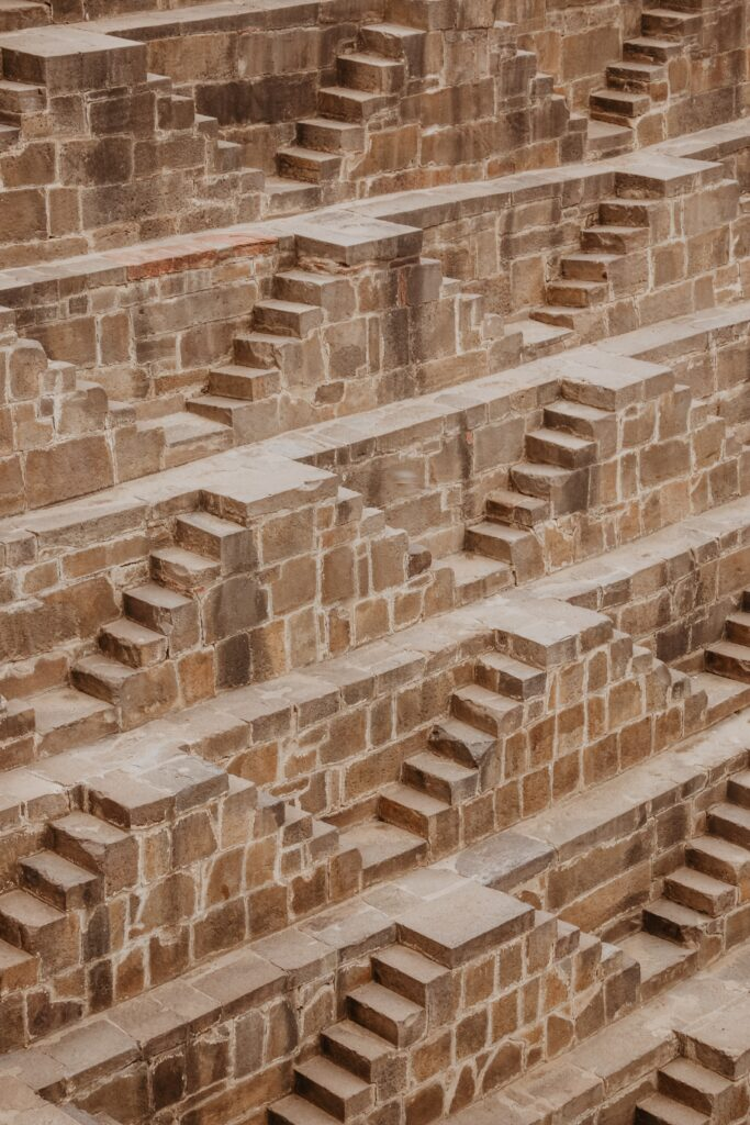 Picture perfect Indian Stepwell Photo by Ibrahim Rifath on Unsplash