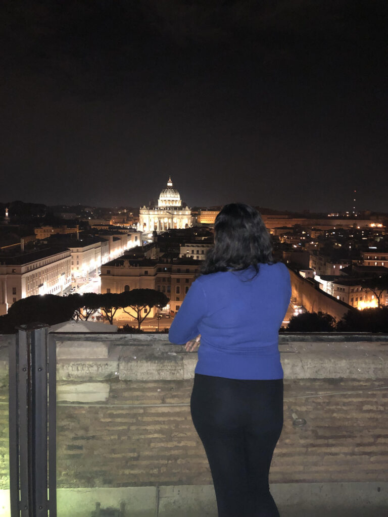 Night View from Castel Sant'Angelo