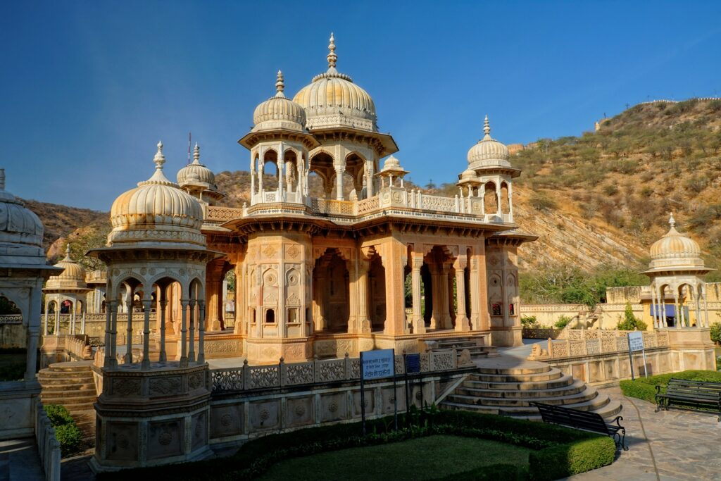 Gaitore ki Chhatriyan Best Places to visit in Jaipur