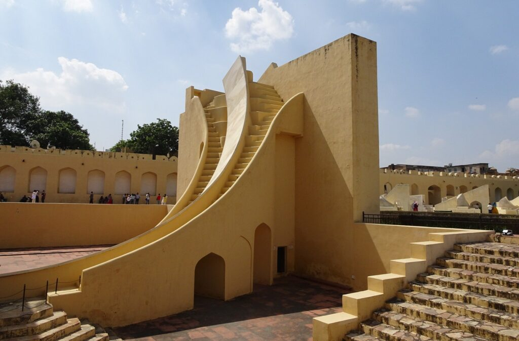 Astronomical Instrument at Jantar Mantar