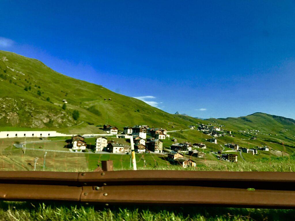 View of Livigo, one of the hidden gems in Italy