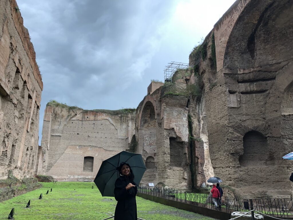 Baths of Caracalla, hidden gem in Rome