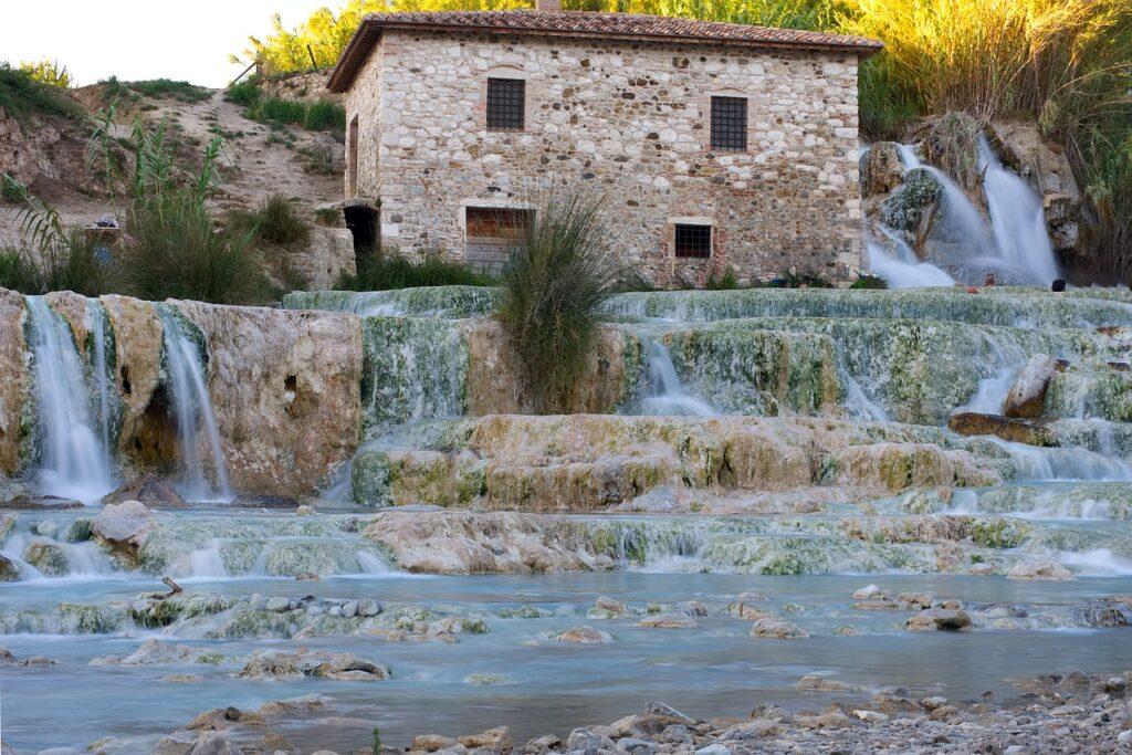Cascate del Mulino, Saturnia