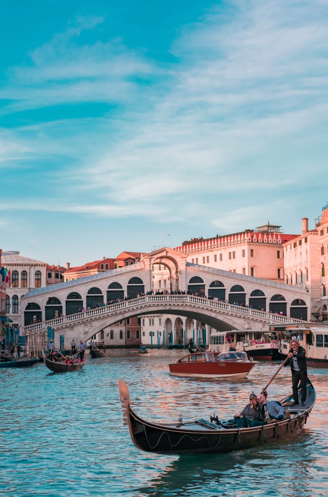 Things to do in Venice at night - Gondola ride through the canals