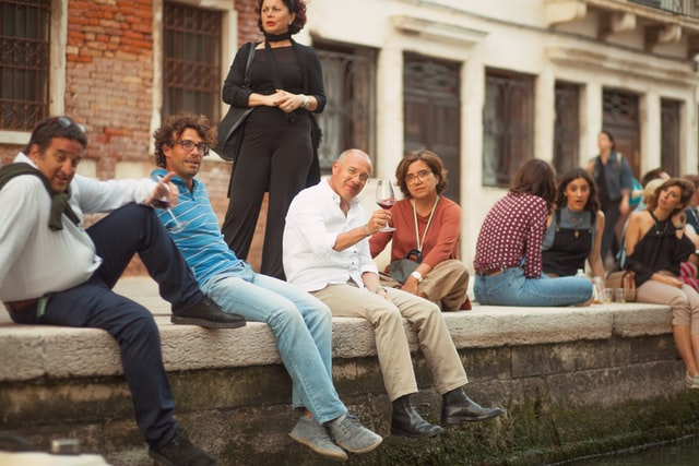 Aperitivos in Venice