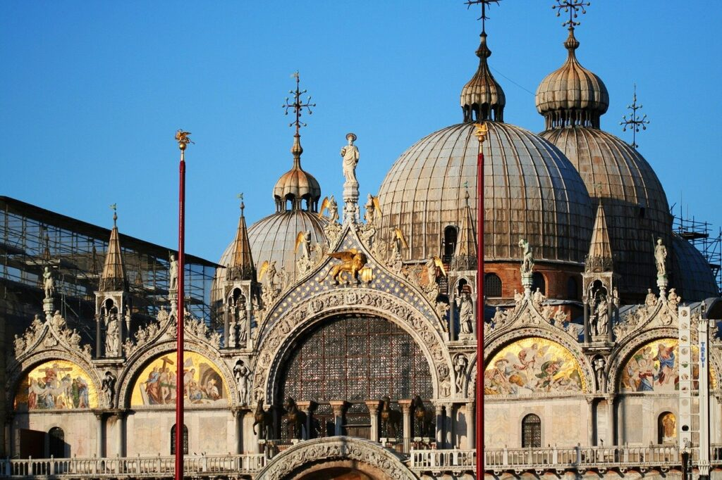 Beautiful facade of St. Mark's Basilica, things to do in Venice in 2 days