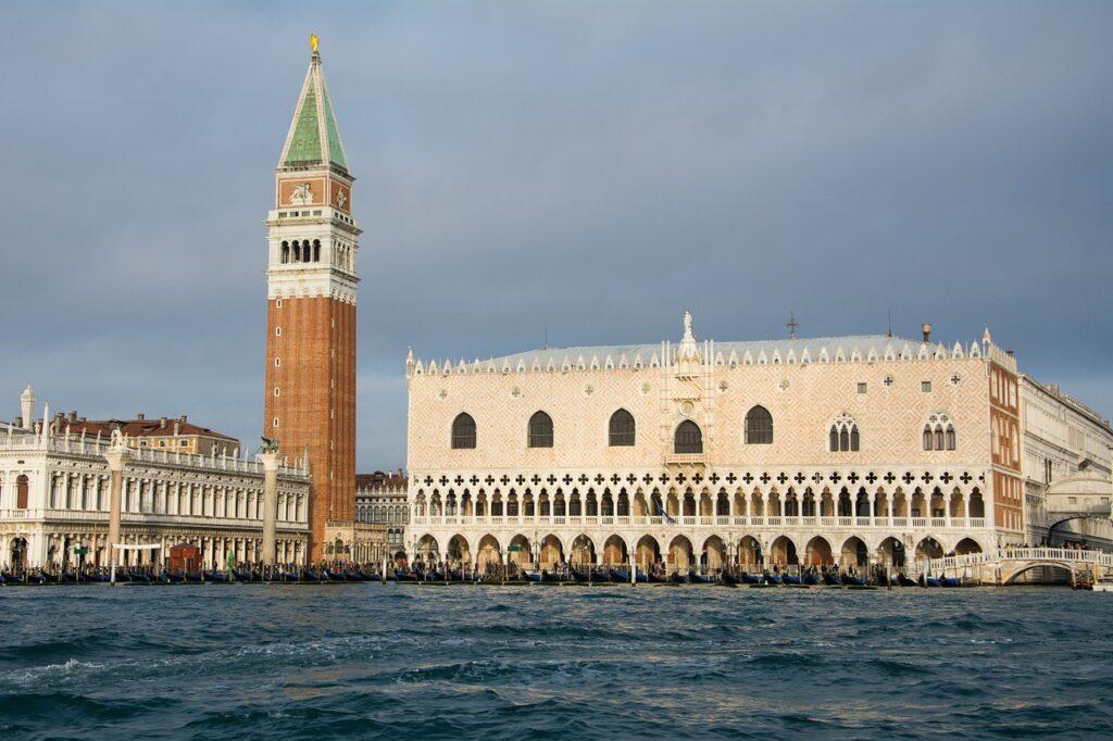 Beautiful Doge's Palace in Venice