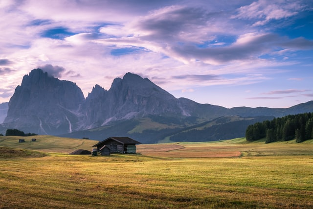 Beautiful picture of the Seiser Alm, plateau, one of the best places to visit in the dolomites