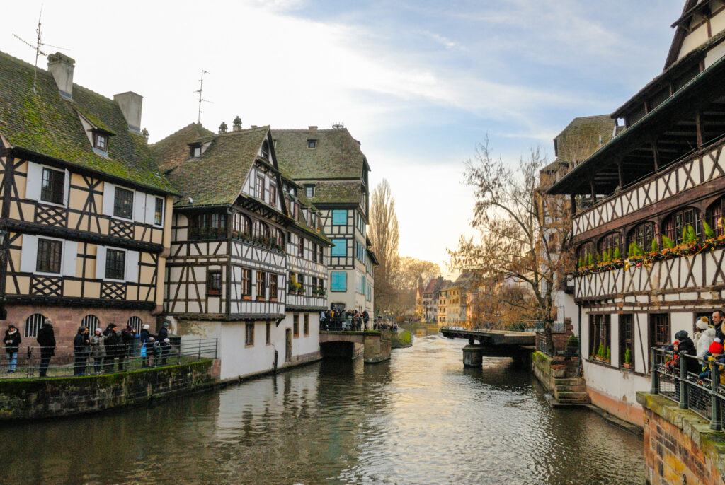 Beautiful view of Strasbourg, a hidden gem in France off-the-beaten path