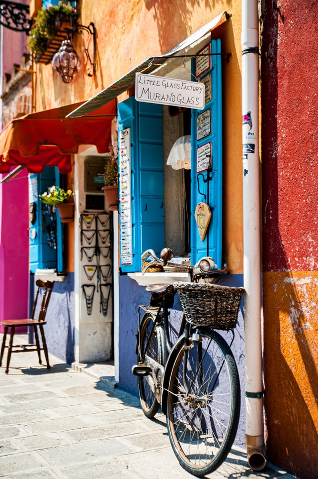 Beautiful shop in Burano