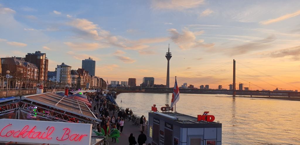 Düsseldorf, one of the hidden gems in Germany off-the-beaten path