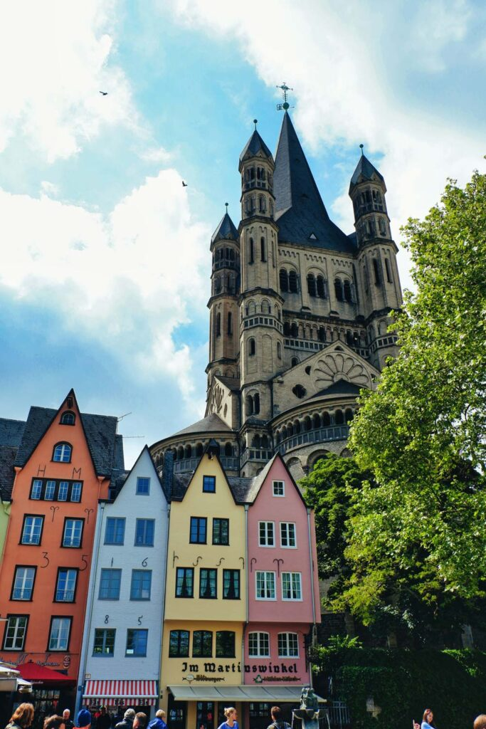 Beautiful scene of Cologne, Germany