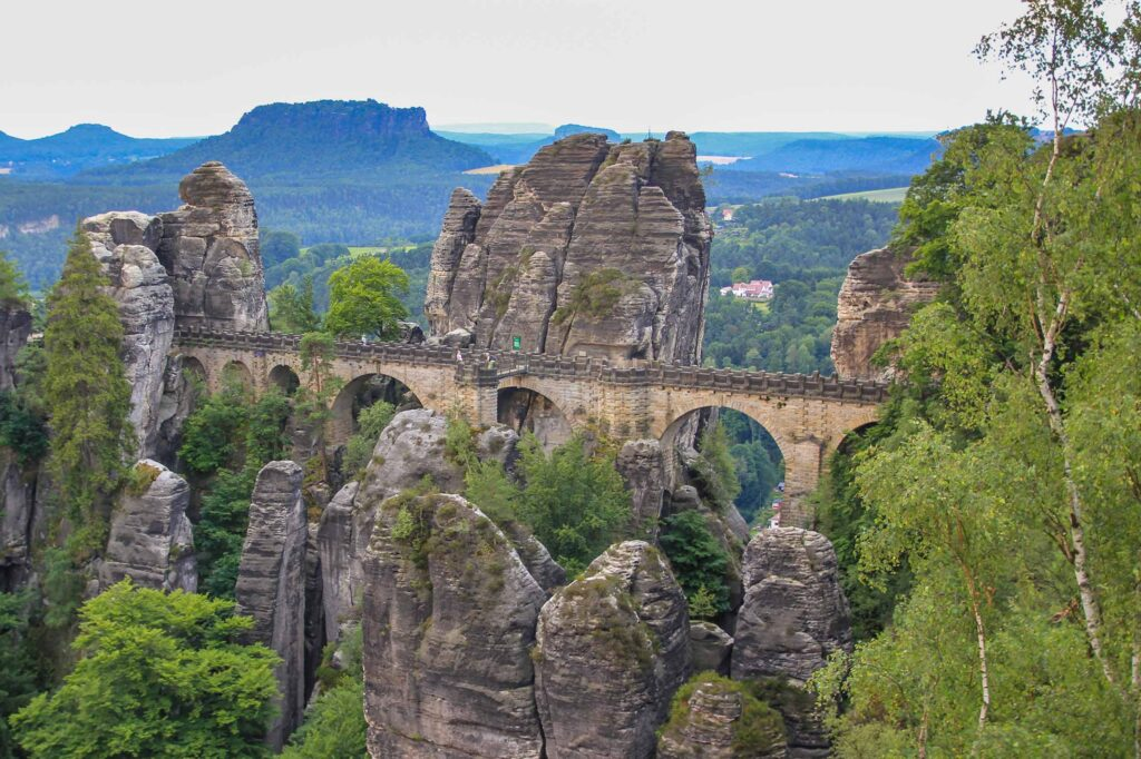 Saxon Switzerland, one of the hidden gems in Germany off-the-beaten path