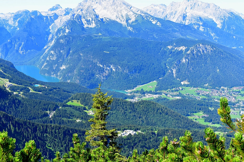 Berchtesgaden, a beautiful town in Germany in the alps