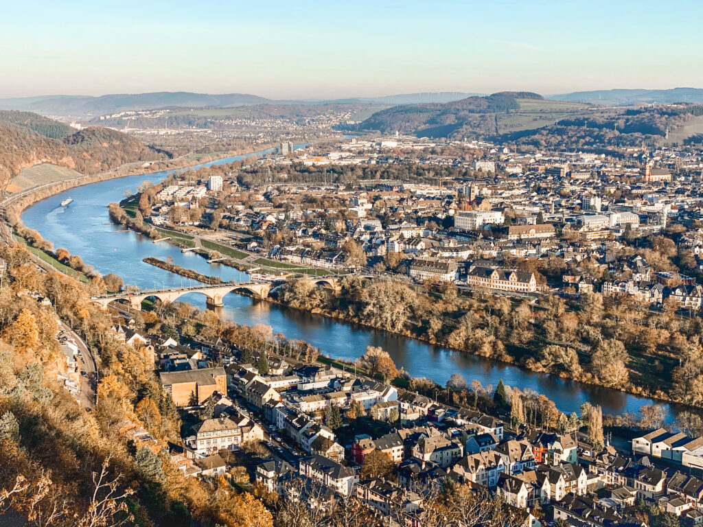 View of the charming town of Trier, one of the hidden gems in Germany off-the-beaten path