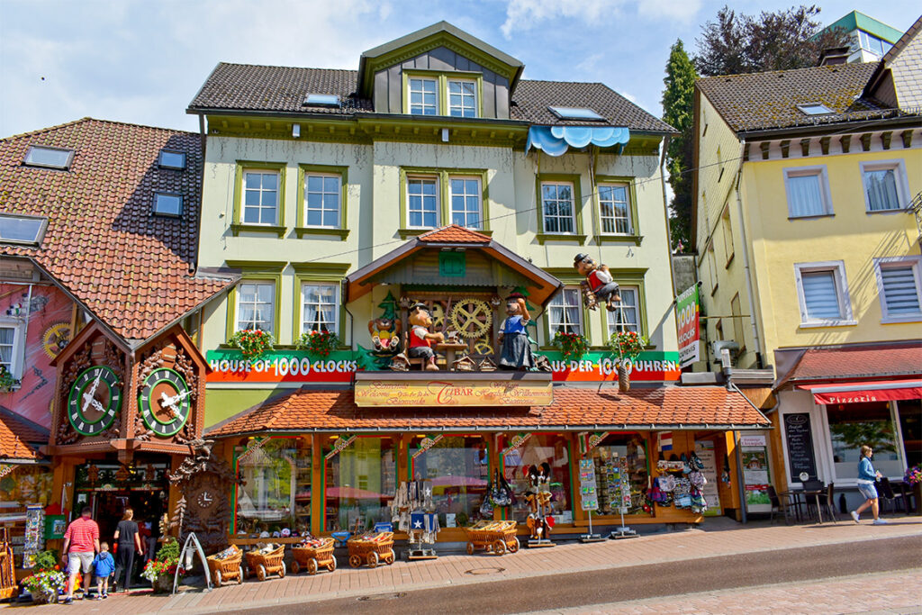 Picture of the picturesque town of Triberg, one of the hidden gems in Germany off-the-beaten path