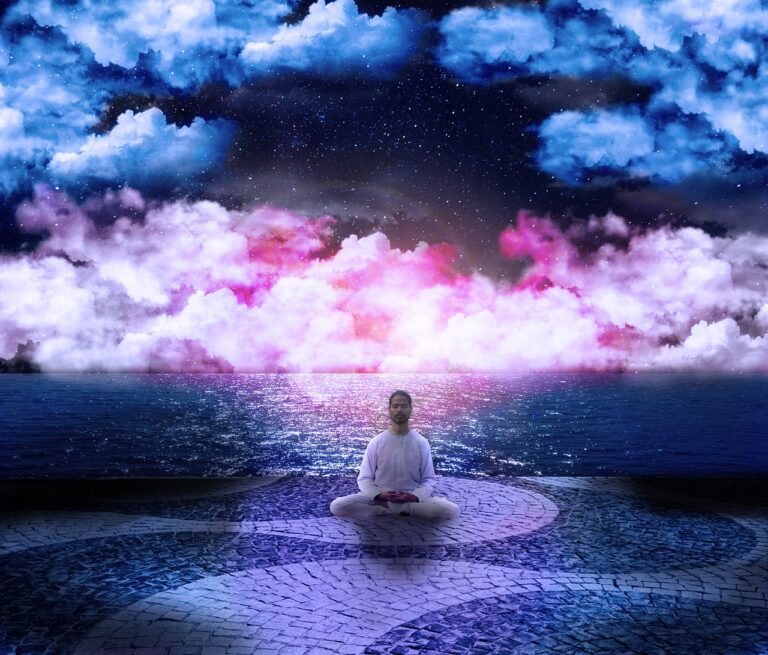 cosmos, posture, lotus