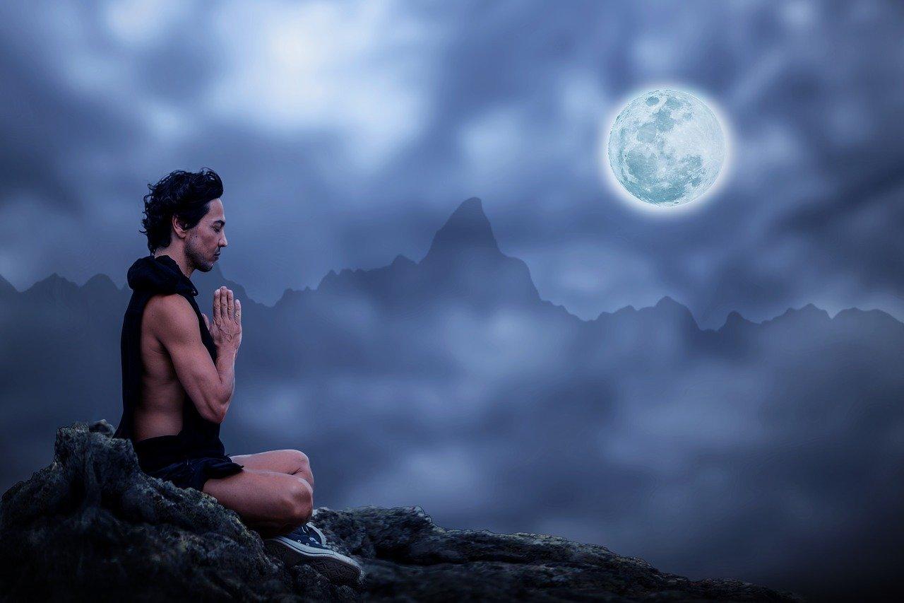 meditation, man, meditate