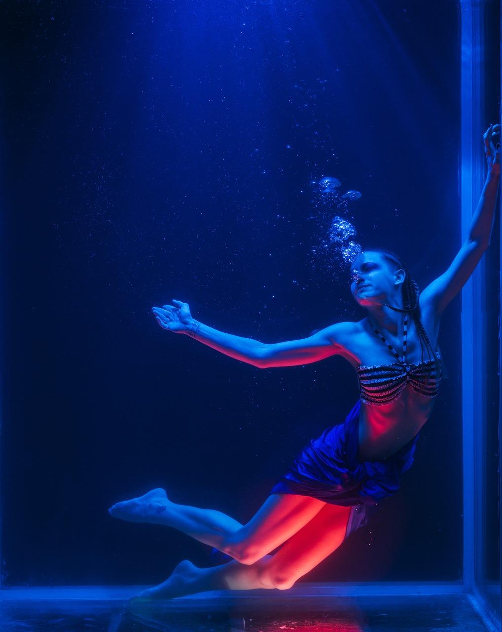 water, underwater, freedom
