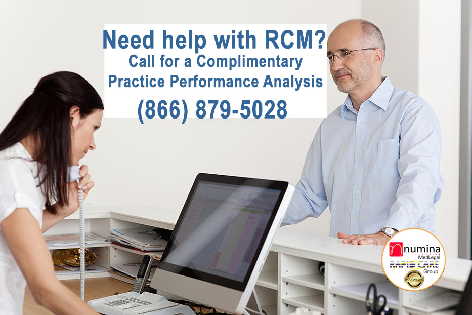Call Numina Medical Billing for help with RCM.