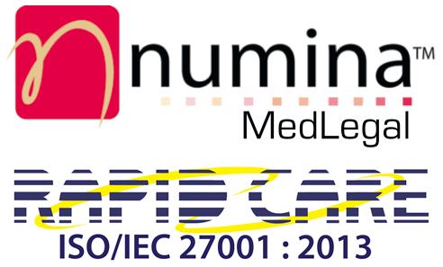 Numina MedLegal logo