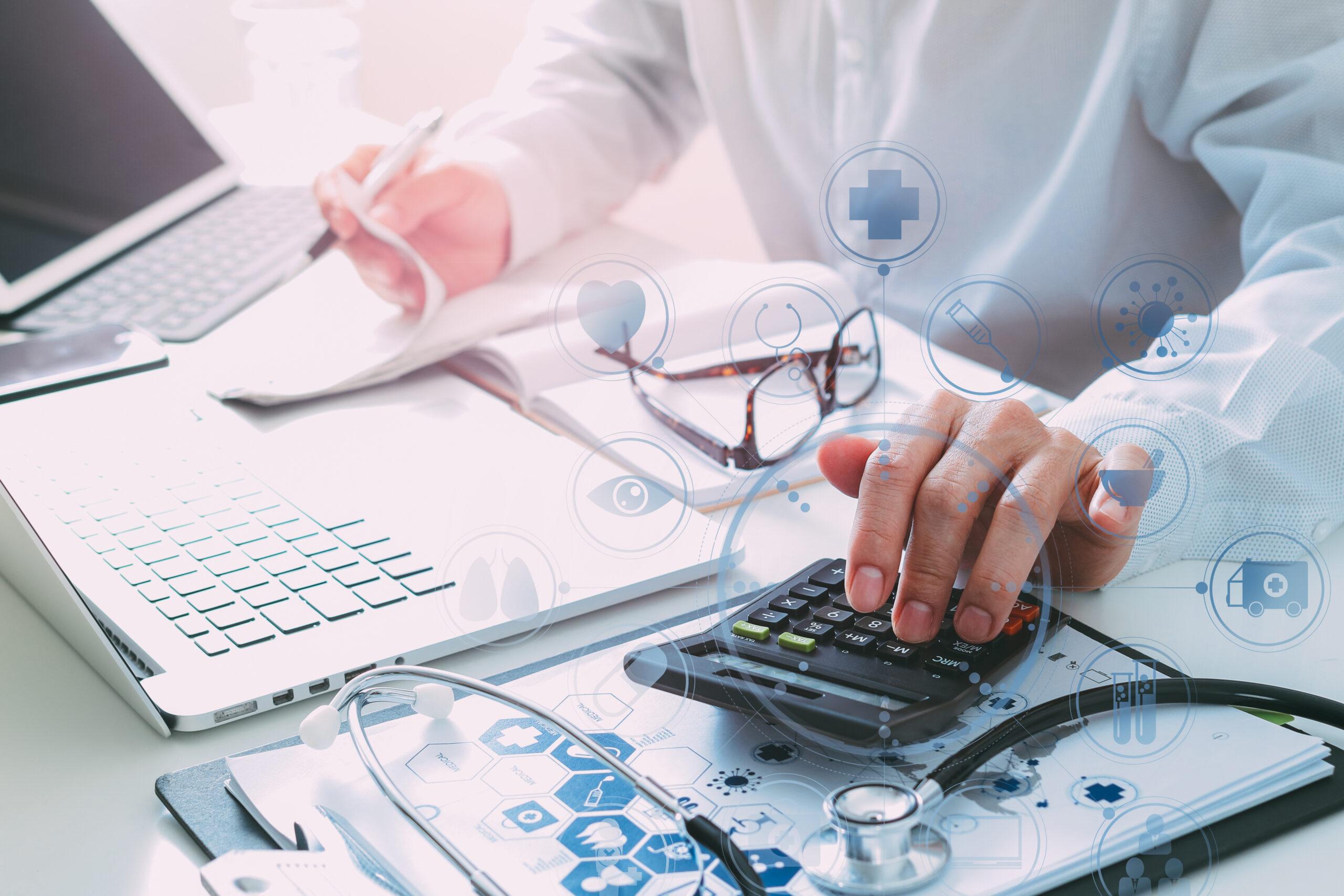 Calculating a medical bill