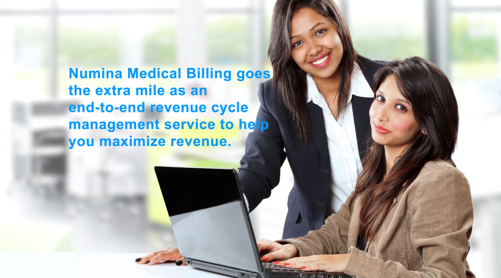 Numina Medical Billing specialists go the extra mile for our clients.