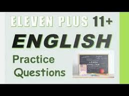 English 11+