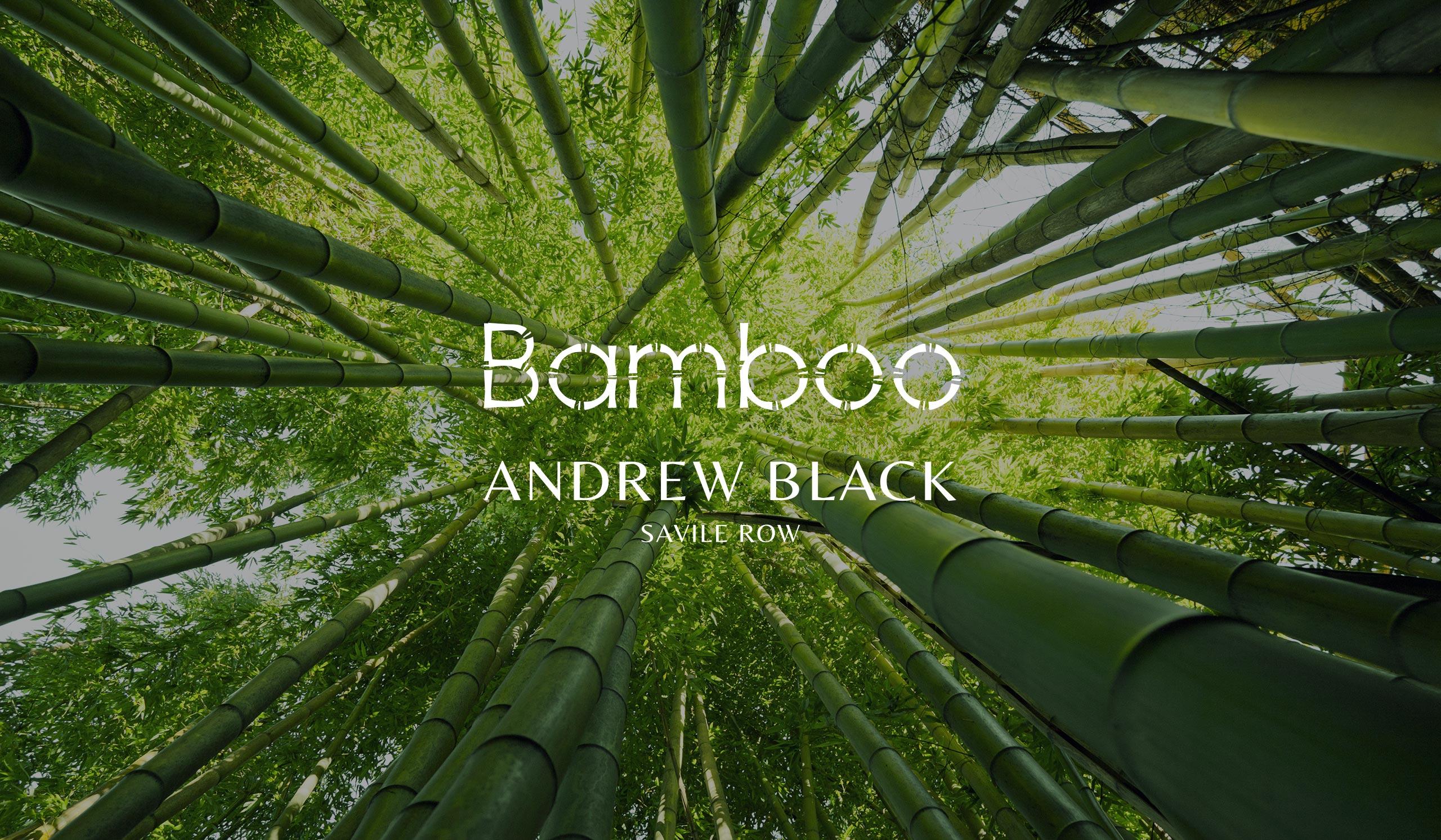 Andrew Black Savile Row Tailor Bamboo