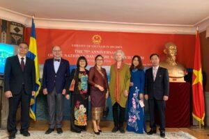 Đại sứ quán Việt Nam tại Thụy Điển tổ chức kỷ niệm 75 năm Quốc khánh 2/9