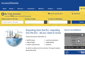 Ủy ban châu Âu khai trương cổng Access2Markets để hỗ trợ các doanh nghiệp xuất nhập khẩu