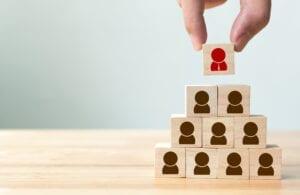recruitment concept cubes