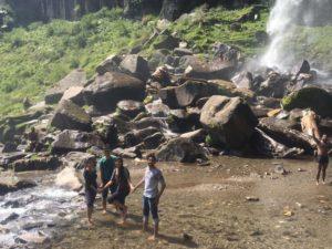 at Jogini Falls