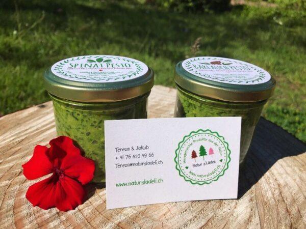 barlauch pesto spinach pesto e1626364449317