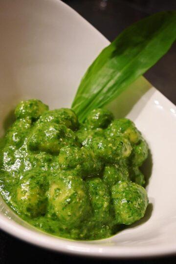 Gnocchi mit Bärlauch Pesto