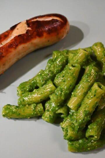 Penne mit Bärlauch Pesto