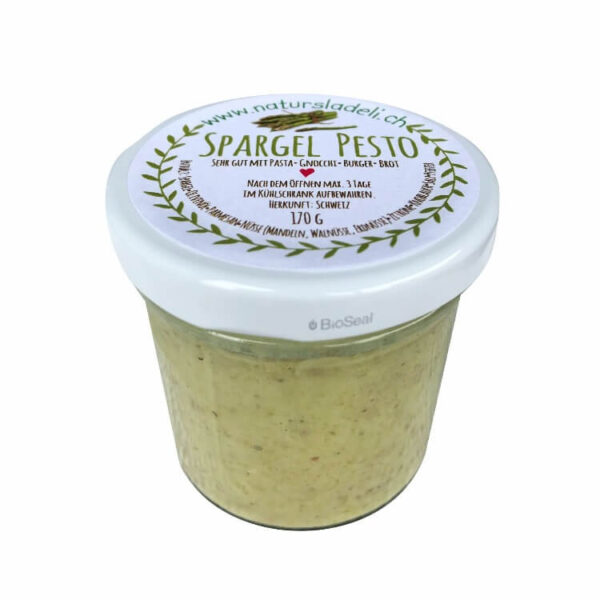 Spargel Pesto