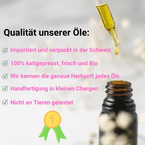 Qualität unserer Öle