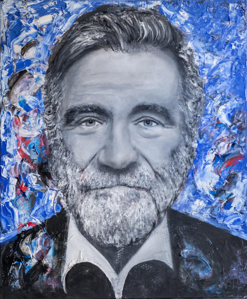 Robin Williams Painting