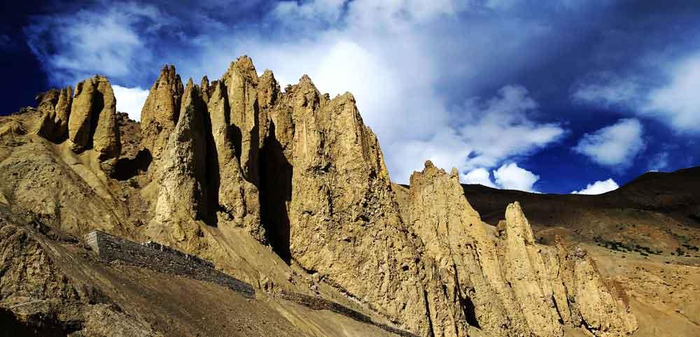 Photograph of hills