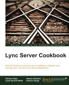 Book Cover: Lync Server Cookbook