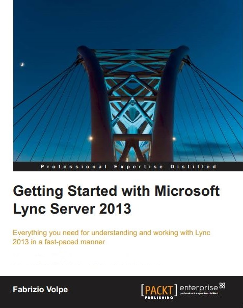 Book Cover: Getting Started with Microsoft Lync Server 2013