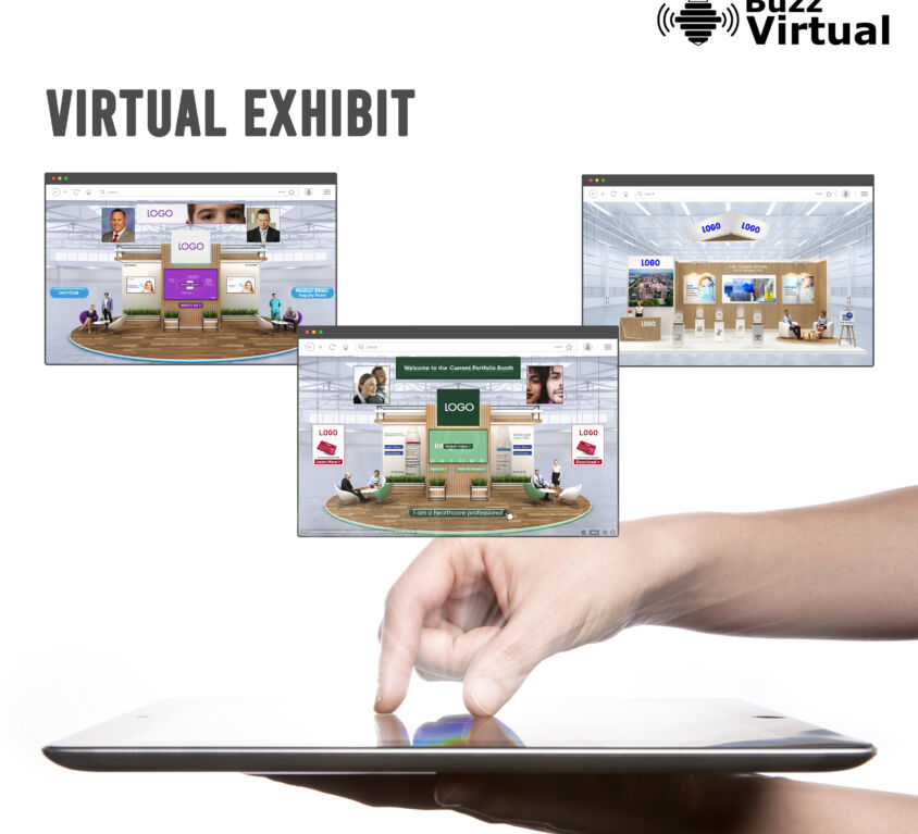 BuzzVirtual_Virtual Booth_Square A