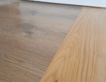 Wooden kitchen flooring fit by Top Drawer Construction Woking Weybridge Surrey