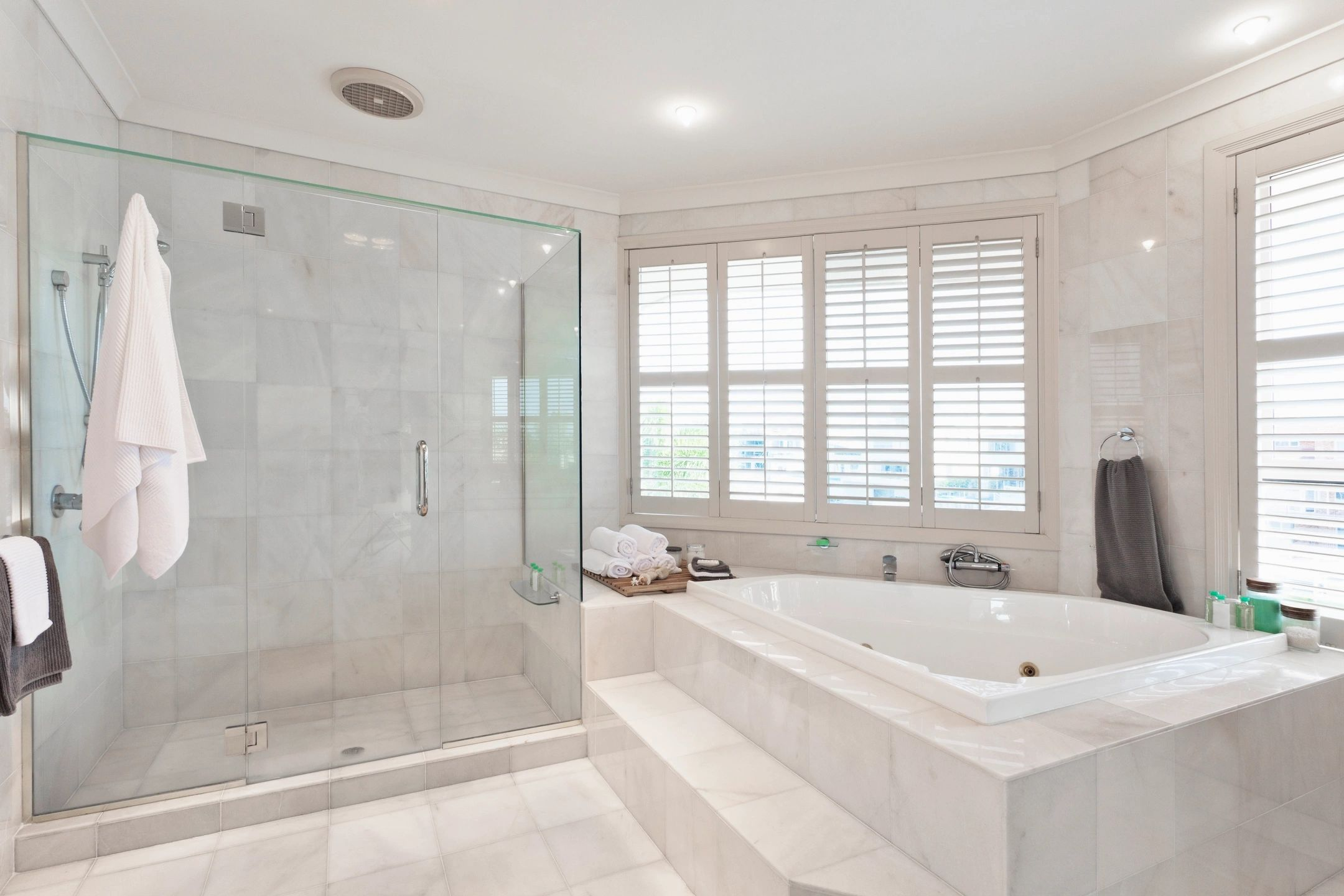 Top Drawer Construction white and silver bathroom installation service Woking Weybridge Surrey